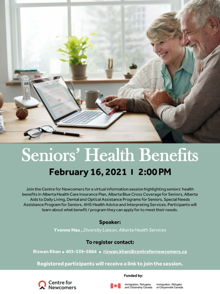 Senior's Health  Benefit Session