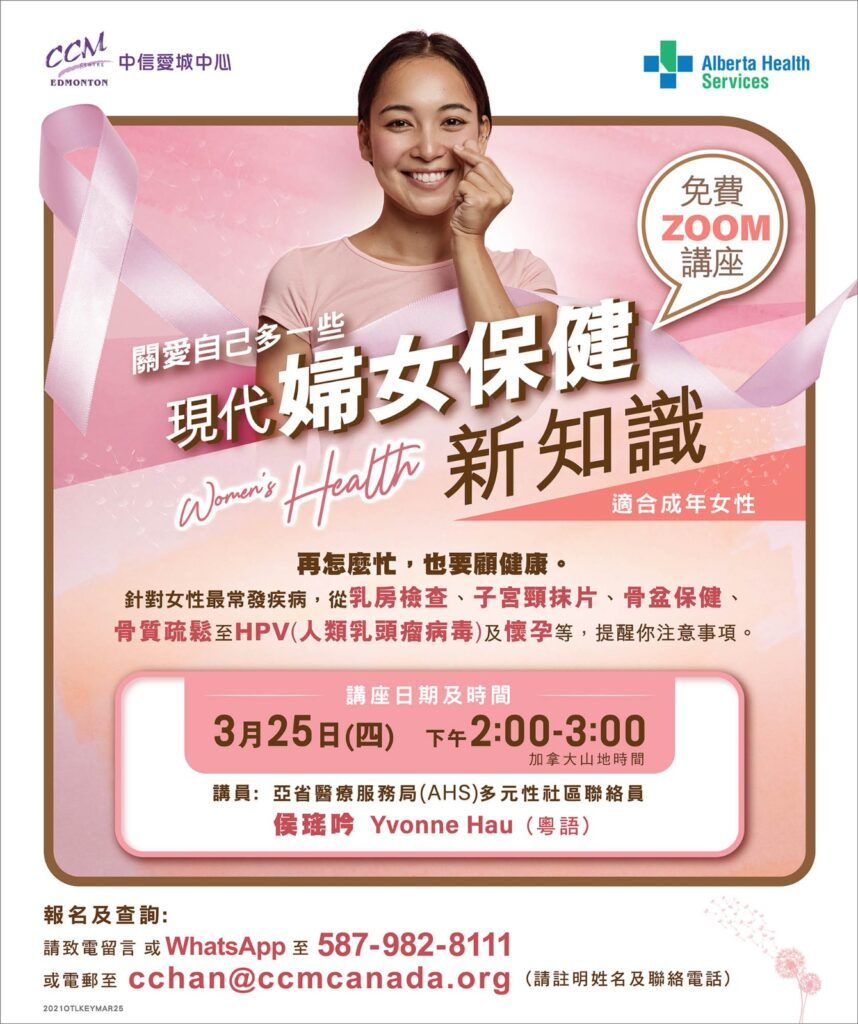 Women's Health in Cantonese