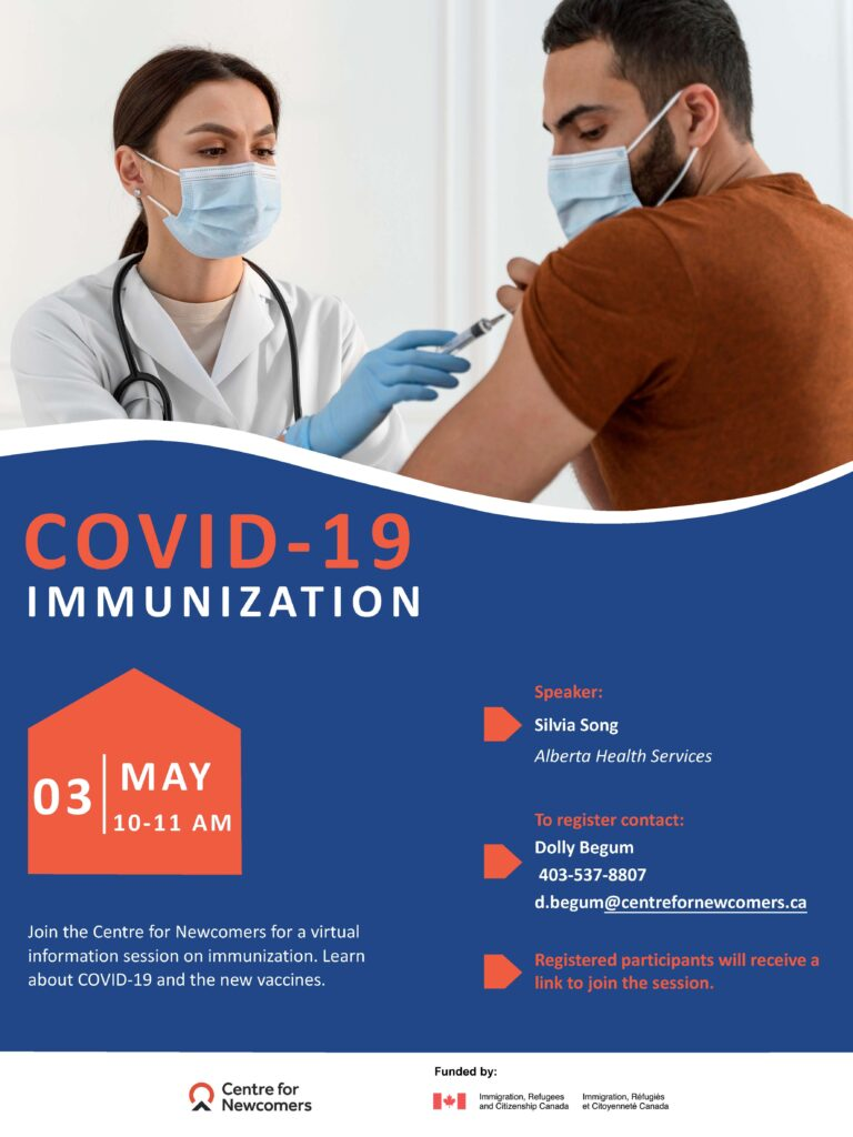COVID-19 Immunization info session